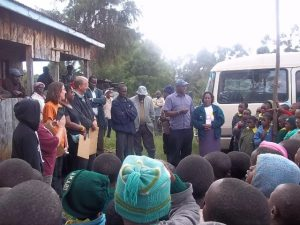 New Hope team visits, serves and encourages...