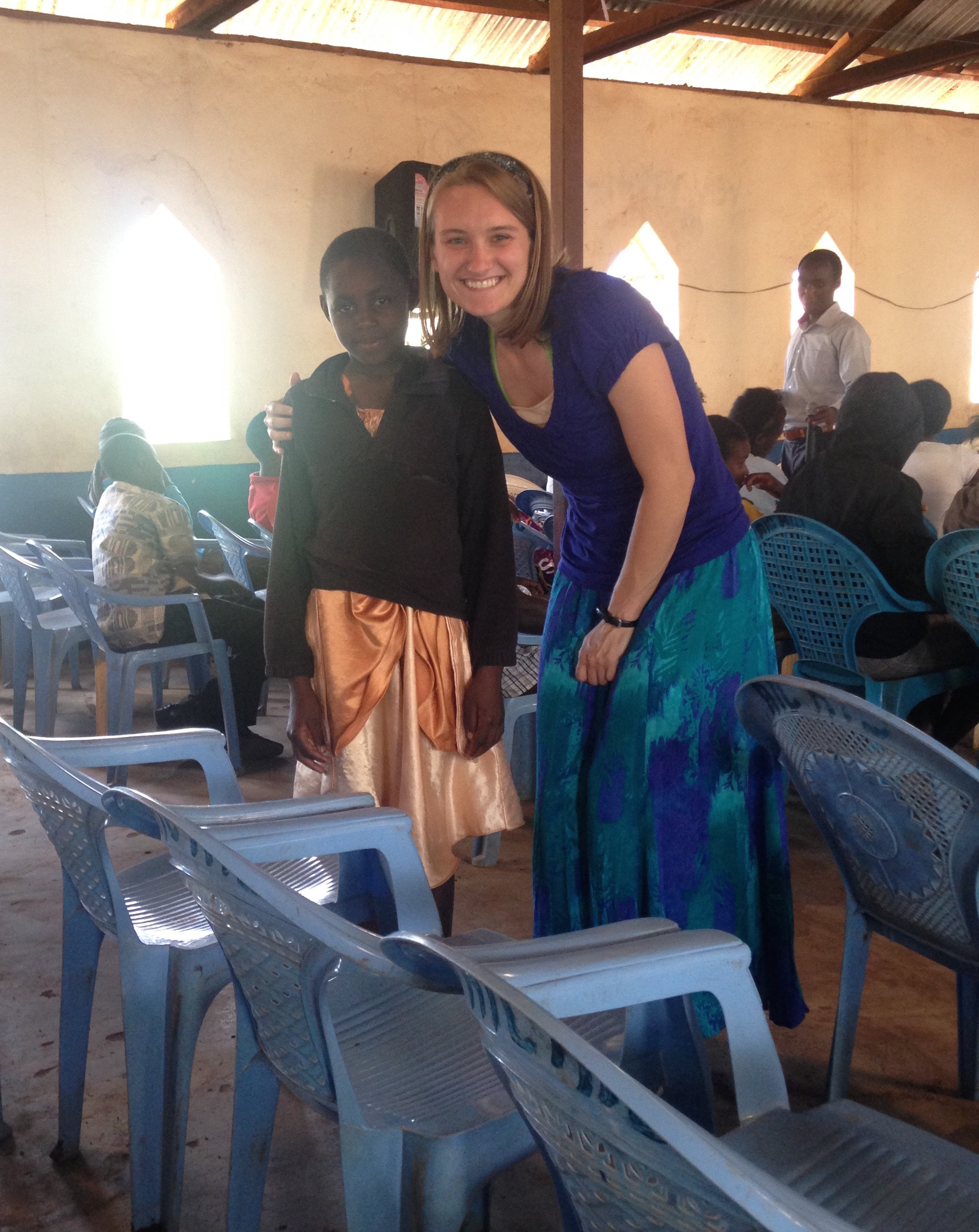 This past November, Jen got to go back to Kiu after two and a half years. What a gift!